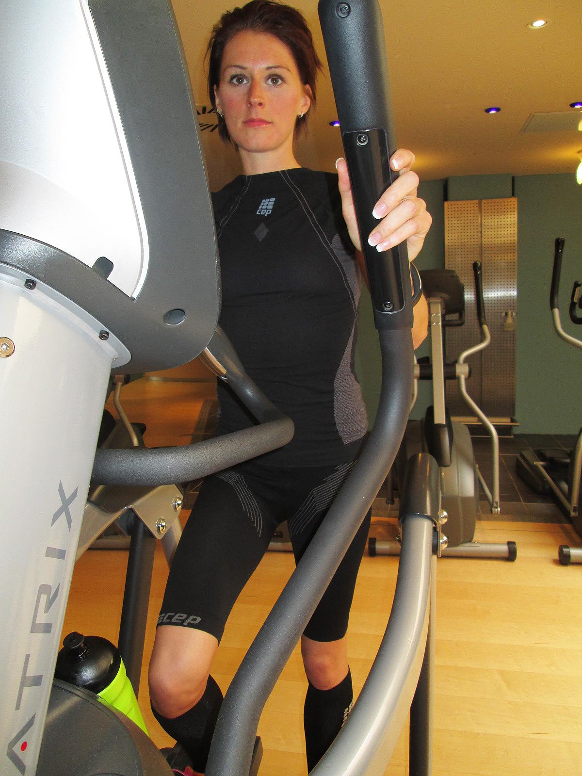 Susanne testet CEP-Sportkompression