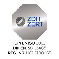 Sanitätshaus mit ISO-Zertifikat