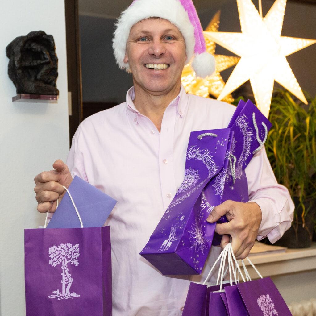 Weihnachtsgeschenke vom Chef