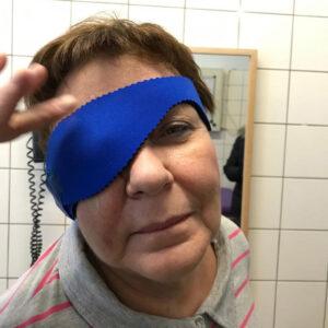 Augenklappe aus Neopren