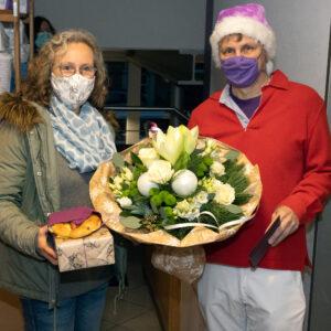 Sanitätshaus Püttmann in Essen mit Jubilarin